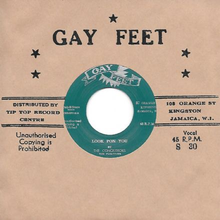 Conquerors - Look Pon You / I've Done You Wrong (Gay Feet/Dub Store Rec.) JPN 7""